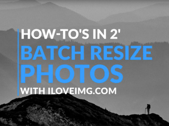 How to Batch Resize Images